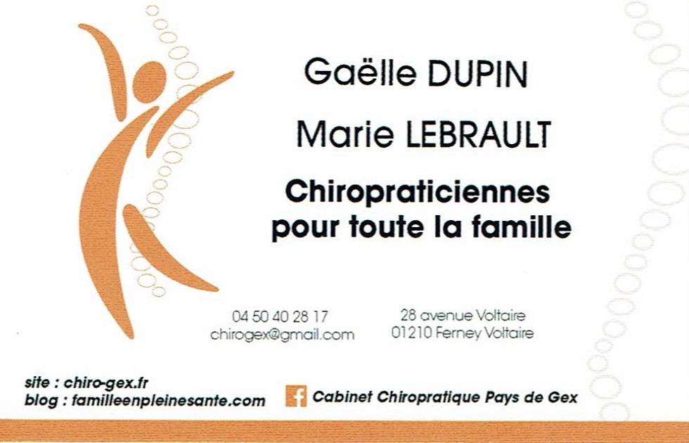 Gaëlle Dupin et Marie Lebrault